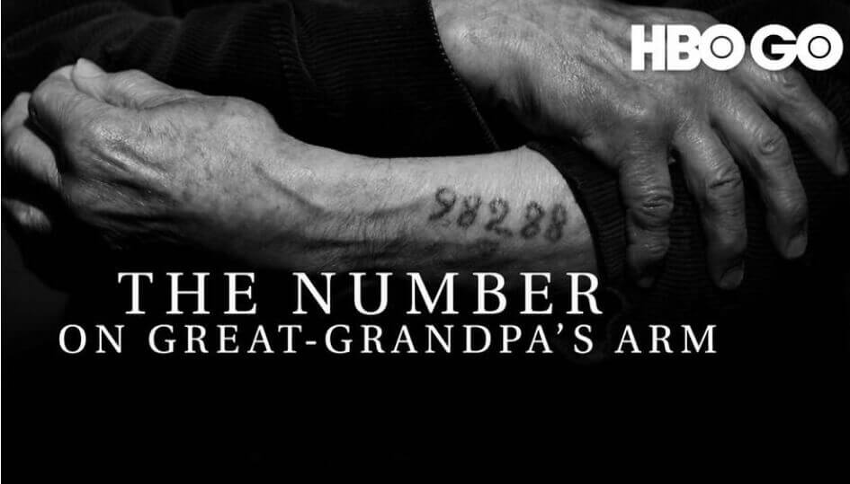 The number on great-grandpas arm